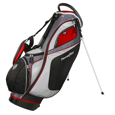 Powerbilt TPS Dunes 14-Way Black/Red Stand Golf Bag
