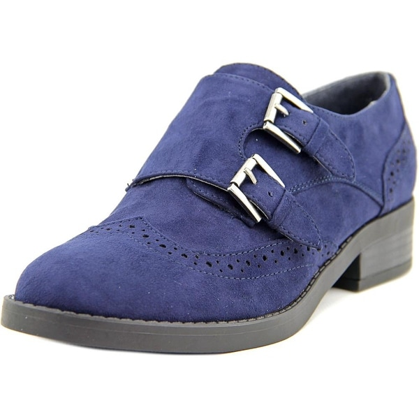 Indigo Rd. Upton Women Round Toe Canvas Blue Oxford