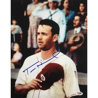 Tom Hanks Signed 11x14 A League Of Their Own Photo PSA AD83933