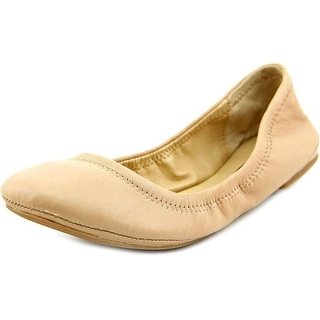 Lucky Brand Emmie Round Toe Leather Flats