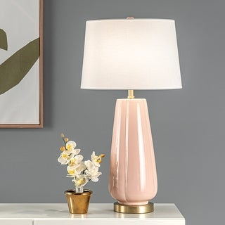 """Link to nuLOOM Alcona 28"""" Ceramic Table Lamp - 15"""" W x 15"""" D x 27.5"""" H Similar Items in Table Lamps"""