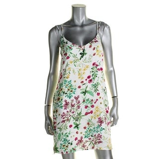 WAYF Womens Casual Dress Floral Print Spaghetti Straps