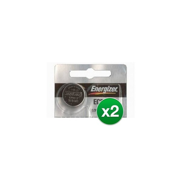 Replacement Battery for Energizer ECR1616 (2-Pack) Replacement Battery