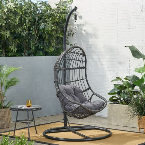 Lombard Rattan Hanging Chair by Christopher Knight Home