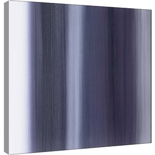 "PTM Images 9-100890  PTM Canvas Collection 12"" x 12"" - ""Royal Curtain C"" Giclee Abstract Art Print on Canvas"