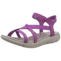 BEARPAW Women's Lydia Ankle Strap Sandals