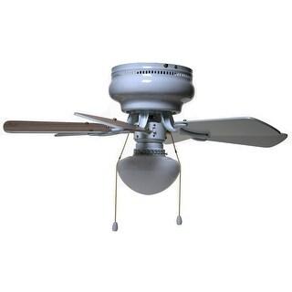 """Boston Harbor CF-78108 Hugger Ceiling Fan, 30"""", White"""