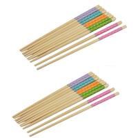 Bamboo Household Kitchenware Chinese Wedding Gift Dinner Chopsticks 10 Pairs