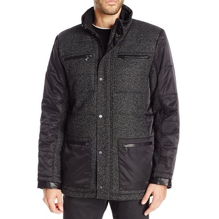 Calvin Klein NEW Black Mens Size Small S Quilted Puffer Jacket