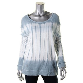 Soft Joie Womens Annora B Sweatshirt Cotton Tie-Dye