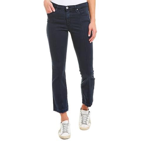 Ag Jeans The Jodi Blue High-Rise Slim Flare Crop