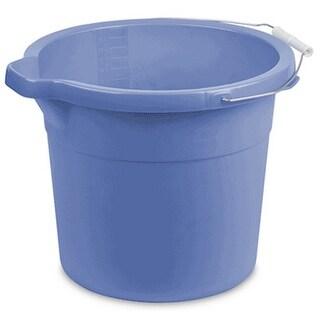 Serilite 11254306 Spout Pail, Blue, 18 Quart