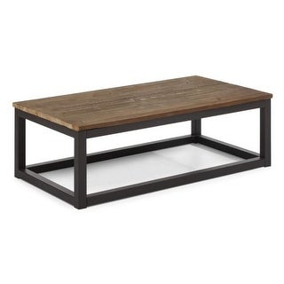 Zuo Modern Civic Center Rectangular Coffee Table Civic Center Fir Rectangular Coffee Table