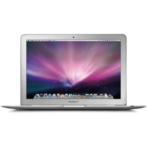 """Apple MacBook Air MC968LL/A Intel Core i5-2467M X2 1.6GHz 2GB 64GB SSD 11.6"""", Silver (Refurbished)"""