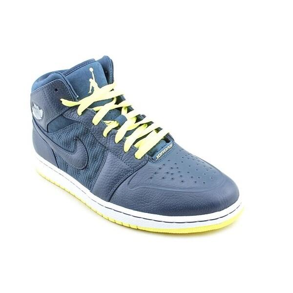 Jordan Air Jordan 1 Retro '97 Txt Men Round Toe Synthetic Blue Sneakers