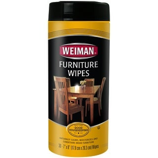 Weiman Wood Furniture Wipes-30 Wipes/Pkg