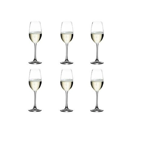 Riedel Ouverture Crystal Champagne Glass, Set of 6 Riedel
