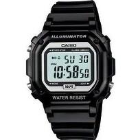 Casio Glossy Black Digital Watch