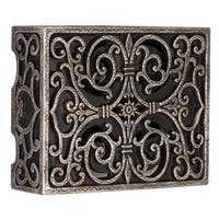 "Craftmade CAB Traditional 8.5"" Wide Carved Door Chime - hand painted renaissance crackle - N/A"