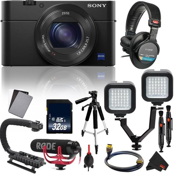 Sony Cyber-shot DSC-RX100 IV Digital Camera International Version Essential Vlogging Kit