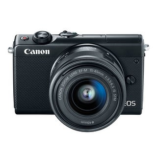 Link to Canon EOS M100 Mirrorless Digital Camera with 15-45mm Lens (Black) Similar Items in Digital Cameras