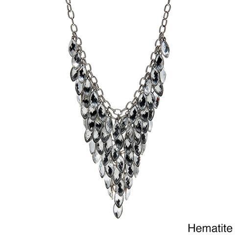 Alexa Starr Colored Lucite Bib Necklace