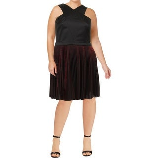 Armani Exchange Womens Special Occasion Dress Criss-Cross Halter