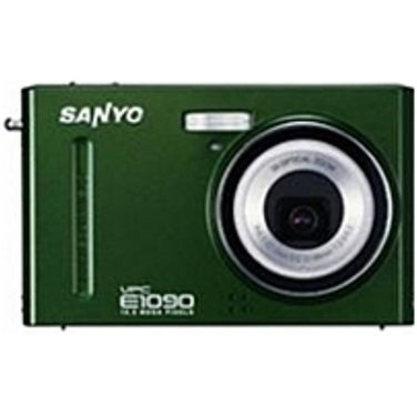 Sanyo VPC-E1090/G 10.0 Megapixel Digital Camera - 3x Optical/5x (Refurbished)