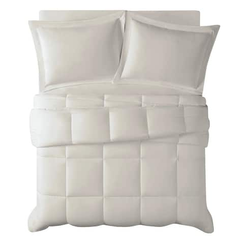 Truly Calm Antimicrobial 3 Piece Down Alternative Comforter Set