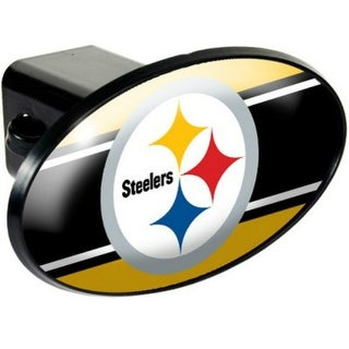 Great American Products Pittsburgh Steelers Oval Trailer Hitch Cover Oval Trailer Hitch Cover