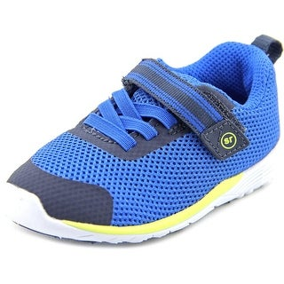 Stride Rite Dimitri Toddler  Round Toe Synthetic Blue Sneakers