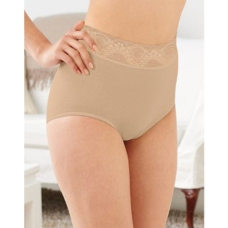 Bali Lacy Skamp Brief Panty - 5