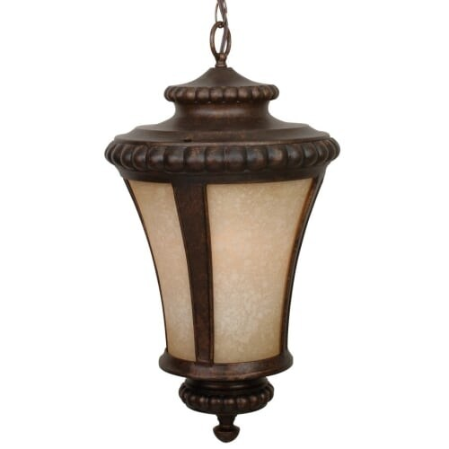 Craftmade Z1221 Prescott 1 Light Lantern Outdoor Pendant - 12 Inches Wide