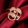 Rose Gold Trio-Matrix Ring - Thumbnail 2