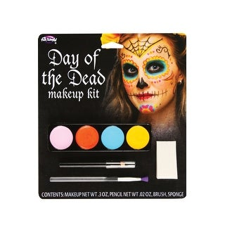 Fun World Day of the Dead Make-Up Kit (Female) - Multi
