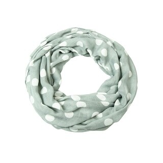 Style & Co. Women's Polka Dot Print Infinity Loop Scarf - os
