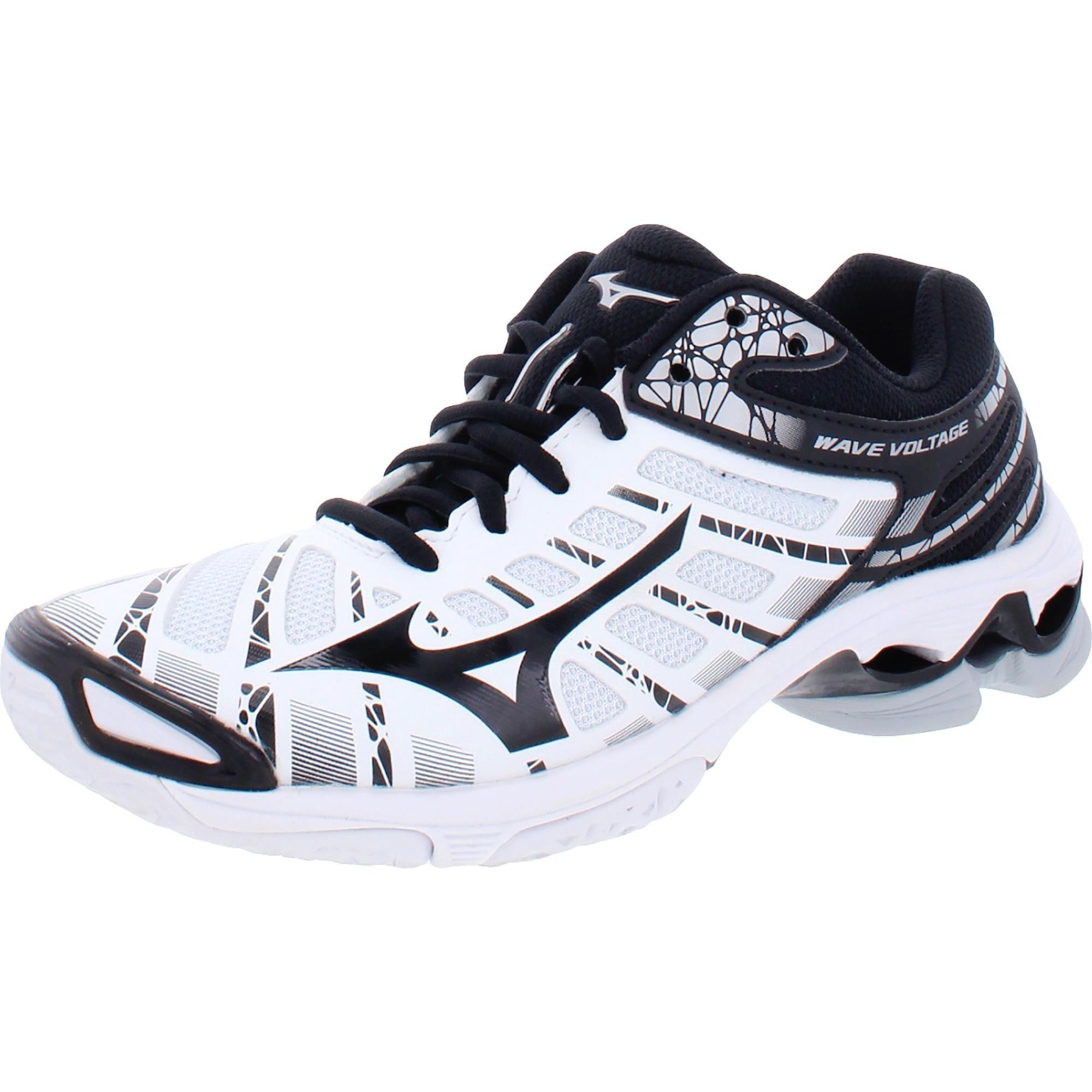mizuno wave voltage volleyball shoes gold