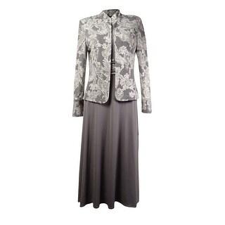 Jessica Howard Women's 2PC Jersey Rococo Jacket Dress