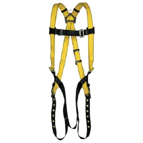 Safety Works 10096496 Workman Qwik Fit Harness With Back D-Ring, XL