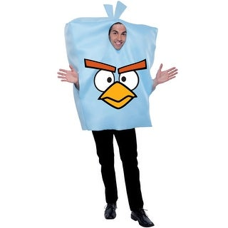 PMG Angry Birds Space Ice Bomb Bird Adult Costume - Blue - One size