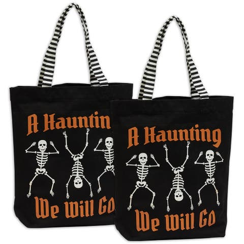 DII Halloween Collection, Tote Bag Set, 2 Piece