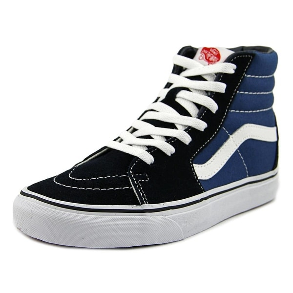Vans Sk8-Hi Women Round Toe Canvas Blue Skate Shoe