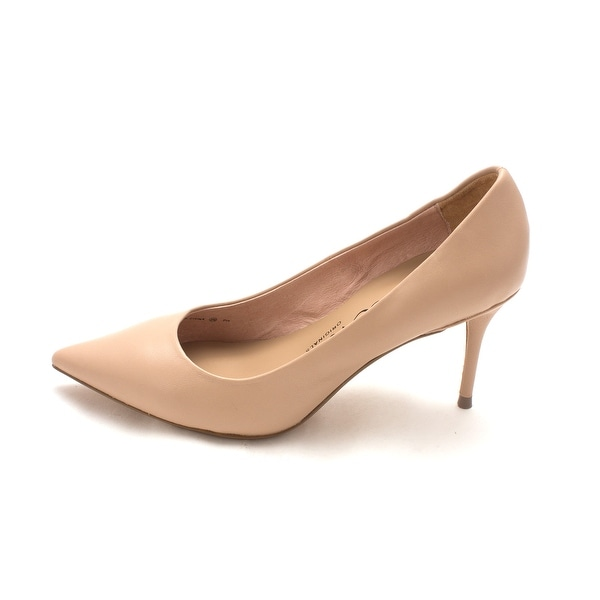 Nina Womens Damsel Leather Pointed Toe Classic Pumps - 5.5