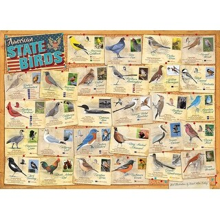 Euro Graphics EURO60005327 State Birds, 1000 Piece