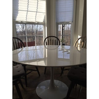 Lippa 54-inch Wood Dining Table - White