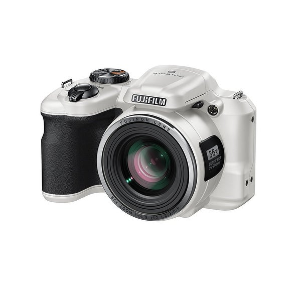 Fujifilm FinePix S8600 Camera - White (16MP, 36x Optical Zoom) 3 inch LCD