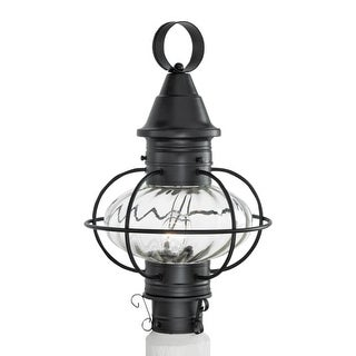 "Norwell Lighting 1611 Vidalia Onion Single Light 19"" Tall Outdoor Post Light with Glass Shade (More options available)"