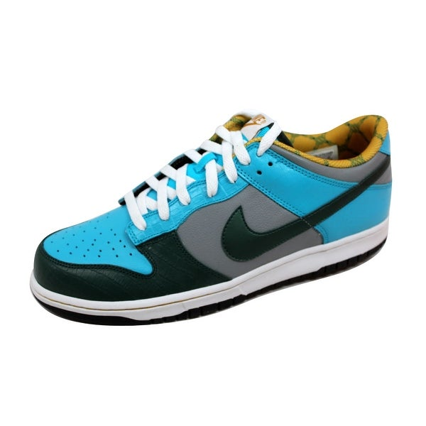 Nike Men's Dunk Low CL Proto/Black Forest-Chlorine Blue Bicycle Pack 304714-032 Size 11.5