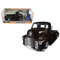 1952 Chevrolet COE Pickup Truck Brown Just Trucks with Extra Wheels 1/24 Diecast Model Car by Jada