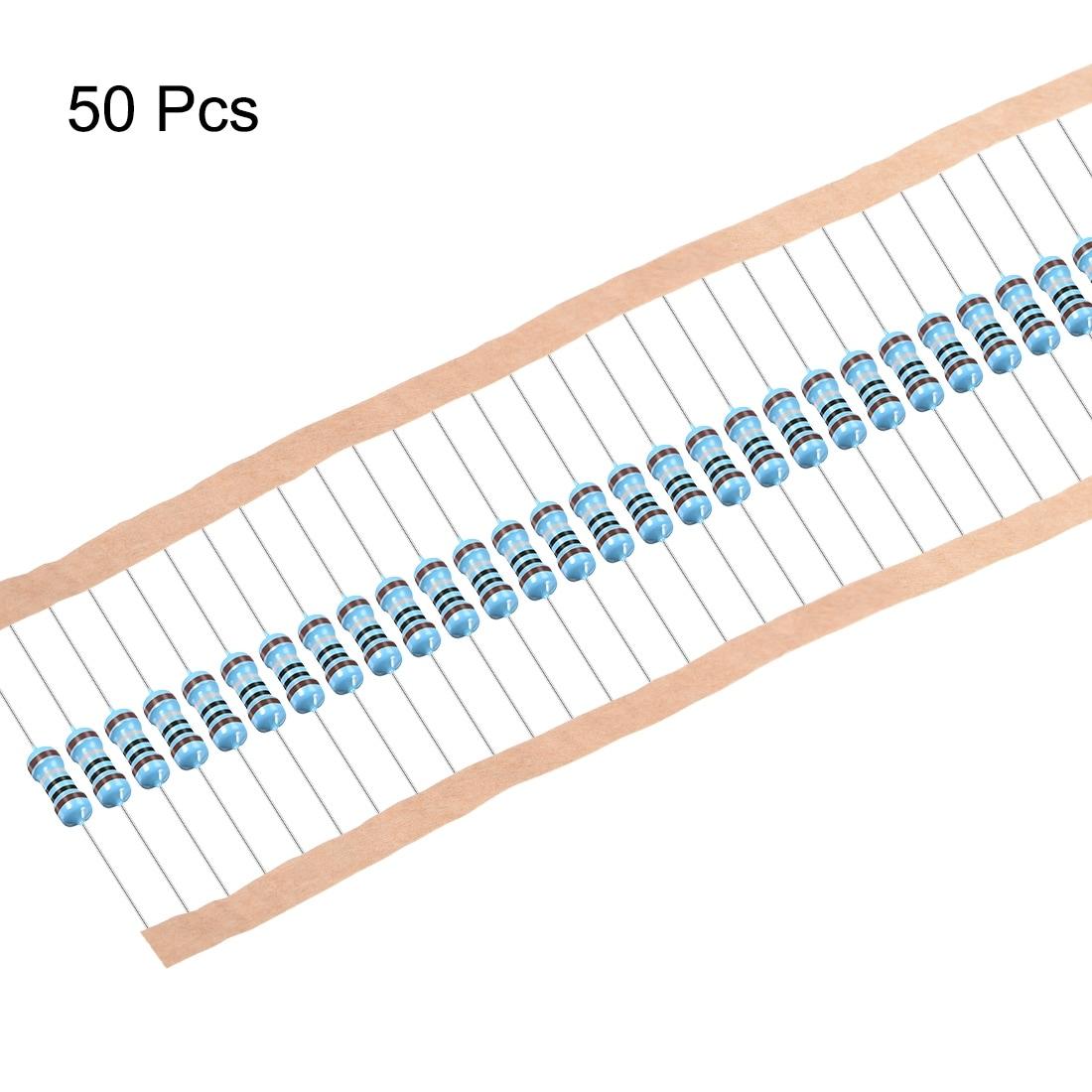 50 Pcs 5 W 5 W Metal oxide Film Résistance Axial Lead 100 Ohm ± 5/% tolérance